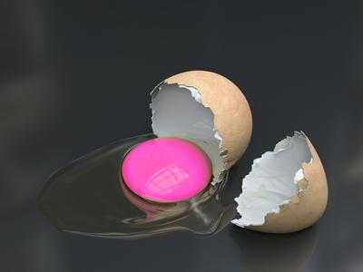 pink egg by mahdiy
