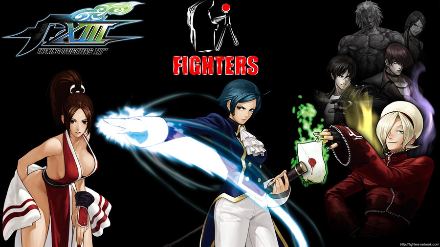 wallpapers kof. and another KOF wallpaper.