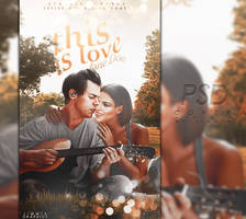 This is love // PSD cover {open} by JIMMIXSTYKES