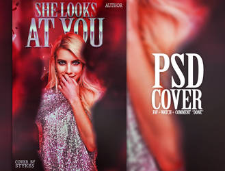 She Looks At You // PSD COVER by JIMMIXSTYKES