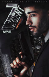 AGENT Z - wattpad cover by JIMMIXSTYKES