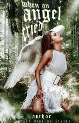 When an angel cried - wattpad cover