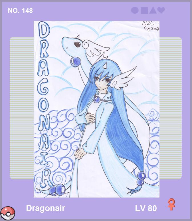 Dragonair Gijinka by WingsOfImagination