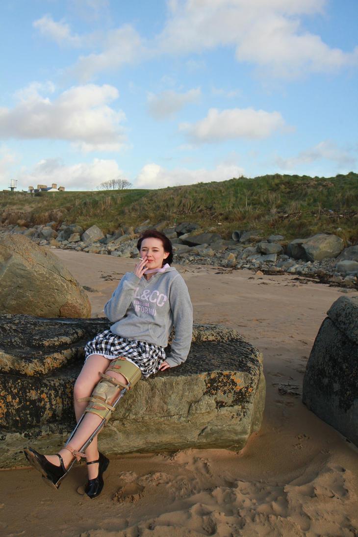 Sitting on a rock by mrdoagh