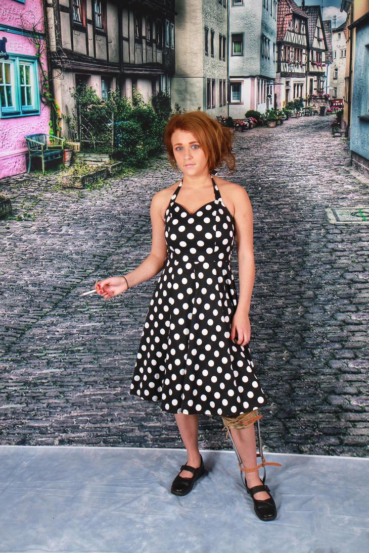 Spotty dress by mrdoagh