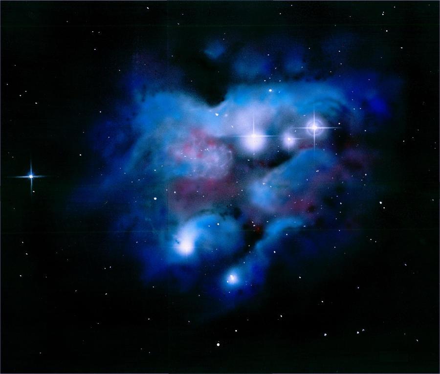 Reflection Nebula Wallpaper