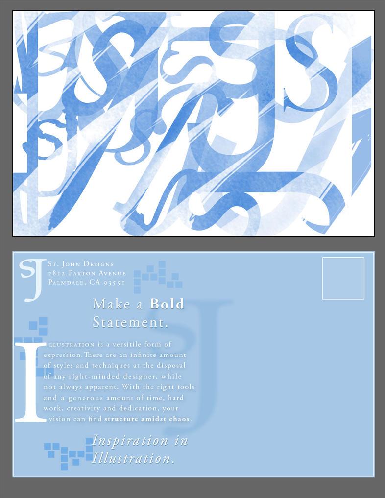 self promo postcard 2 by casesj on deviantart