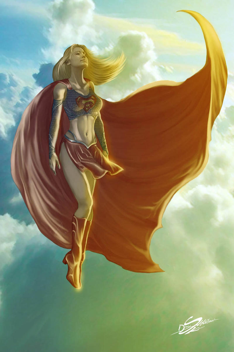 Supergirl by Danthemanfantastic
