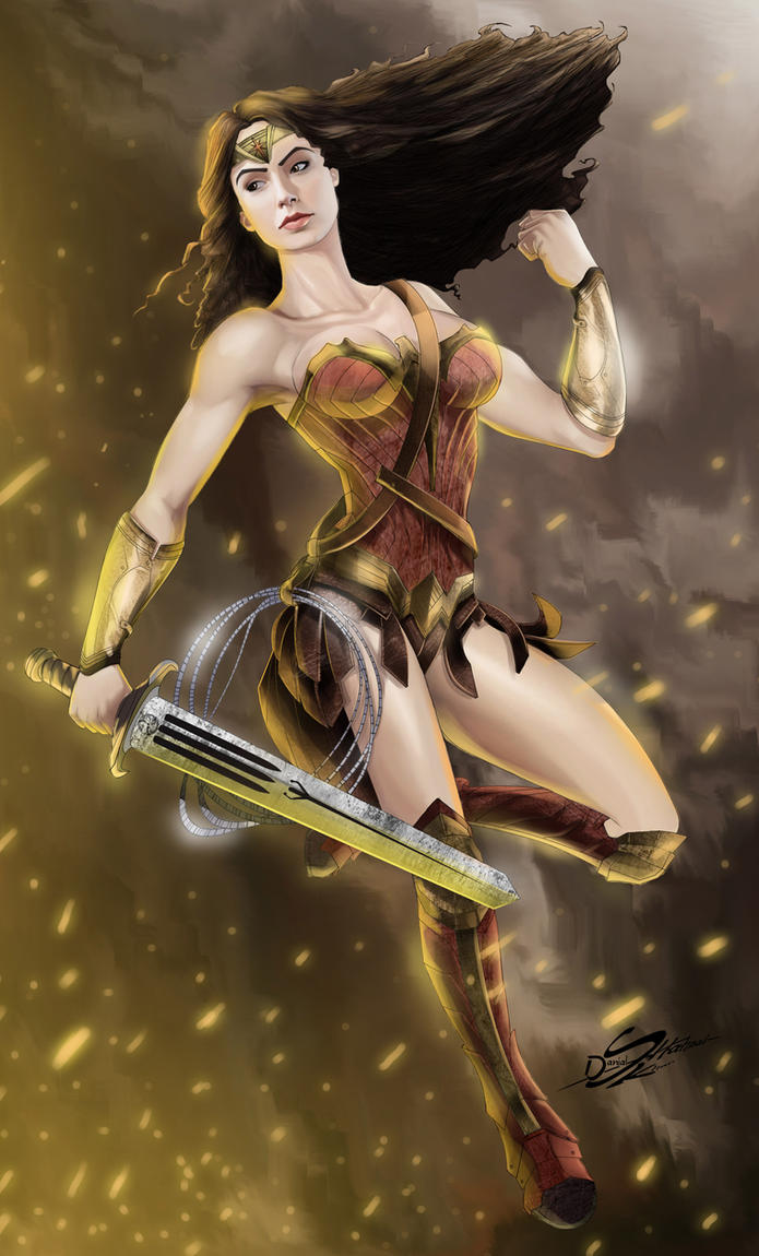 Wonder Woman-2016 by Danthemanfantastic