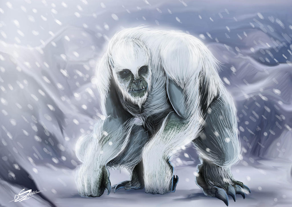 Yeti by Danthemanfantastic