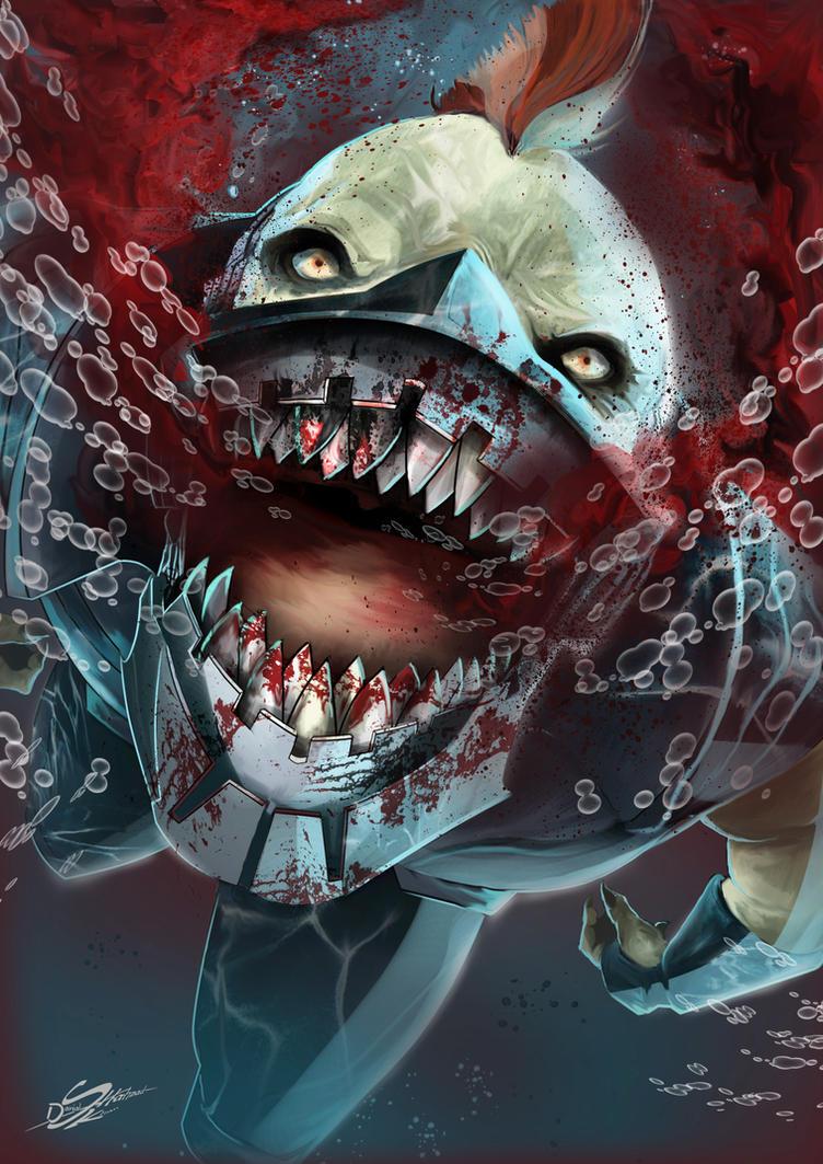 KING SHARK by Danthemanfantastic