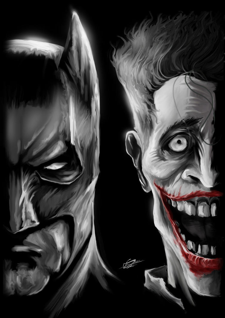 The Bat and the clowN by Danthemanfantastic