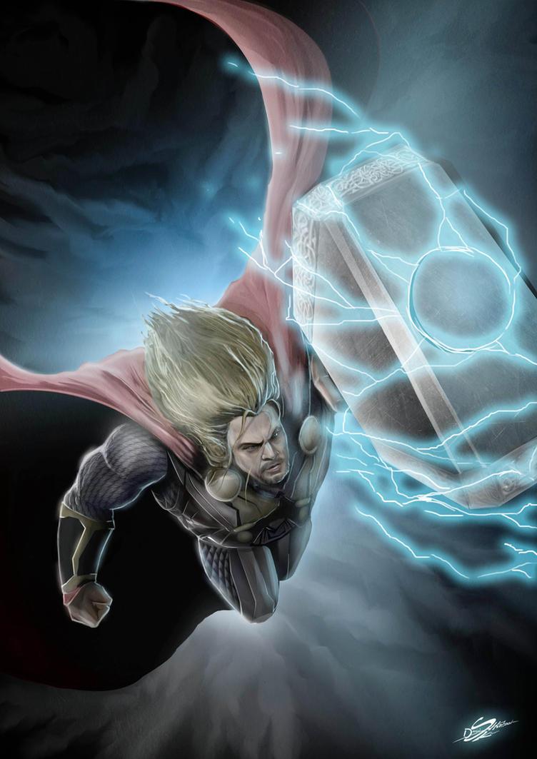 Thor by Danthemanfantastic