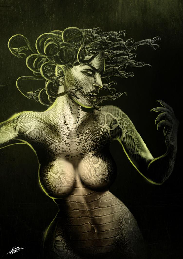 Medusa by Danthemanfantastic