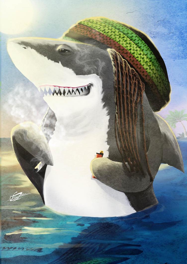 Reggae shark by Danthemanfantastic