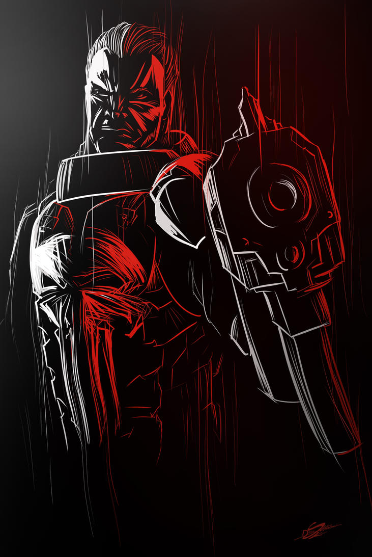 The Punisher by Danthemanfantastic