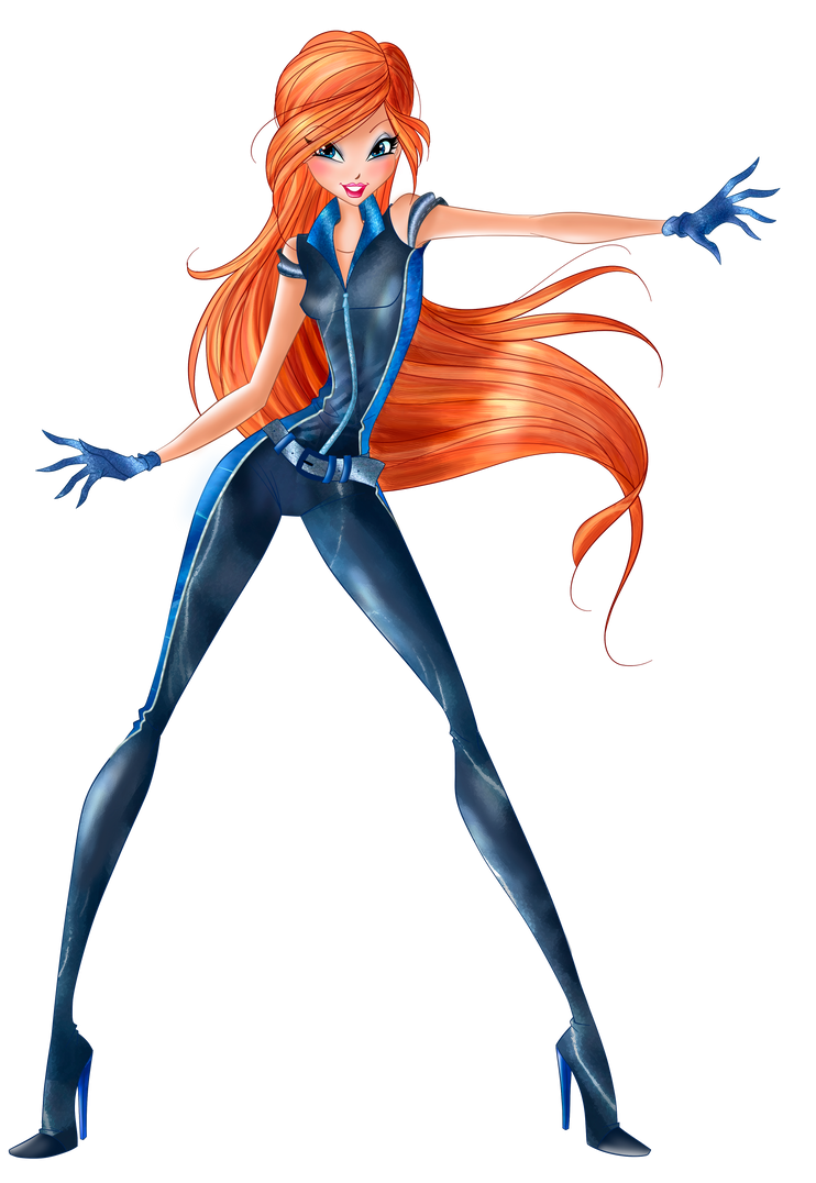 World of Winx - Bloom Spy Png - Full by MagicWinx12