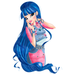 World of Winx - Musa Daily Style Png