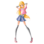 World of Winx - Stella Daily Style - Png Full