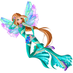 World of Winx - Flora Onyrix Couture - Png