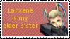 Larxene Stamp by NoXIVTwilightNinja