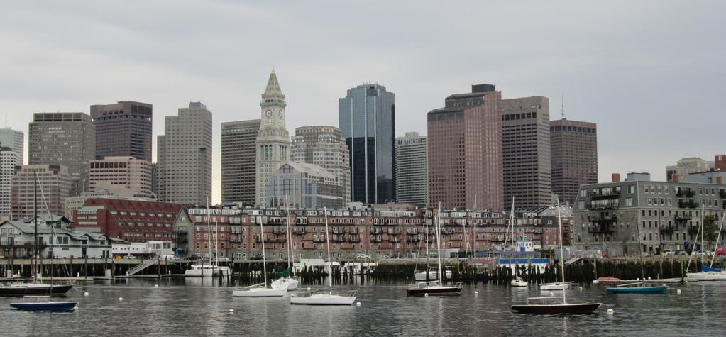 Boston Harbor by PrehistoricEchoes