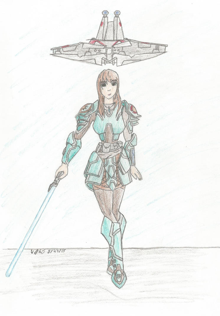 Knight of the Republic by PrehistoricEchoes