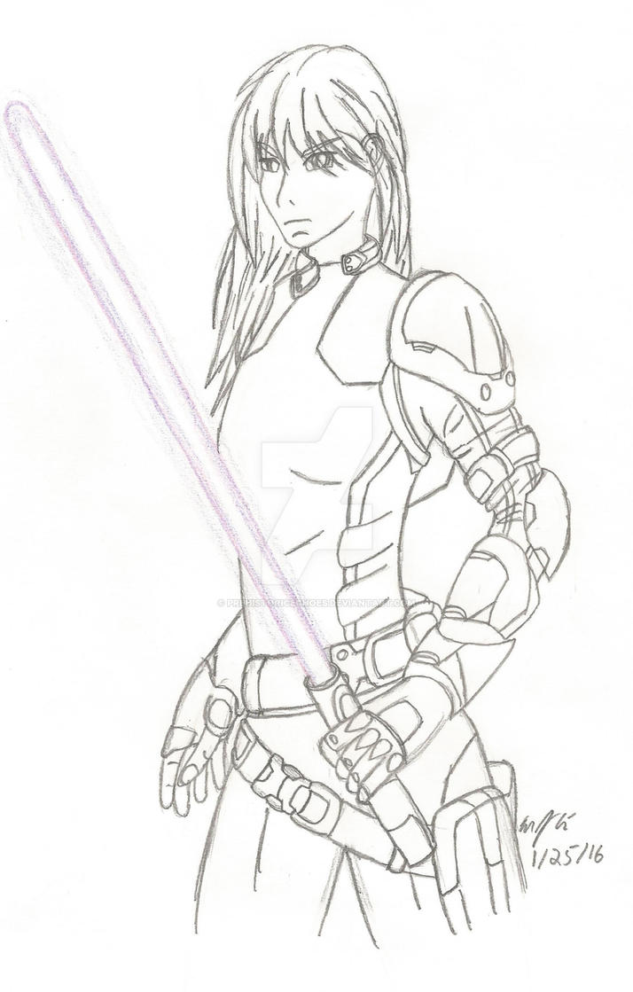 Mara Jade by PrehistoricEchoes