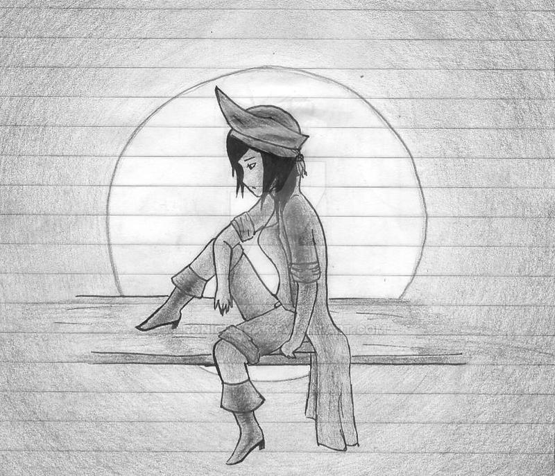 Thinking on the moonlight...