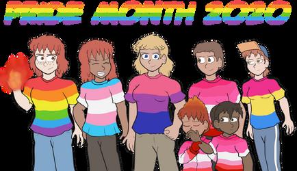 True Blue Filler: Pride Month 2020