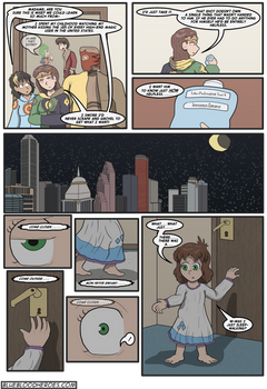 Wasted On The Blue, Page 3
