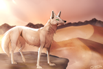 Desert Wanderer | Commission by Strayay