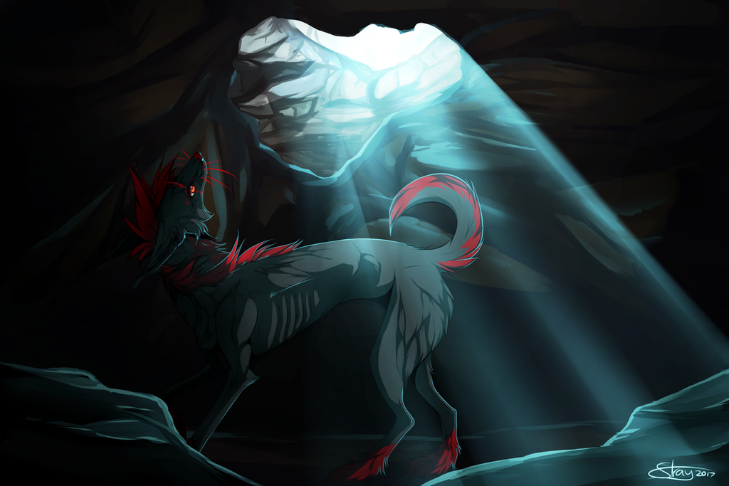 Caverns | Commission by Strayay
