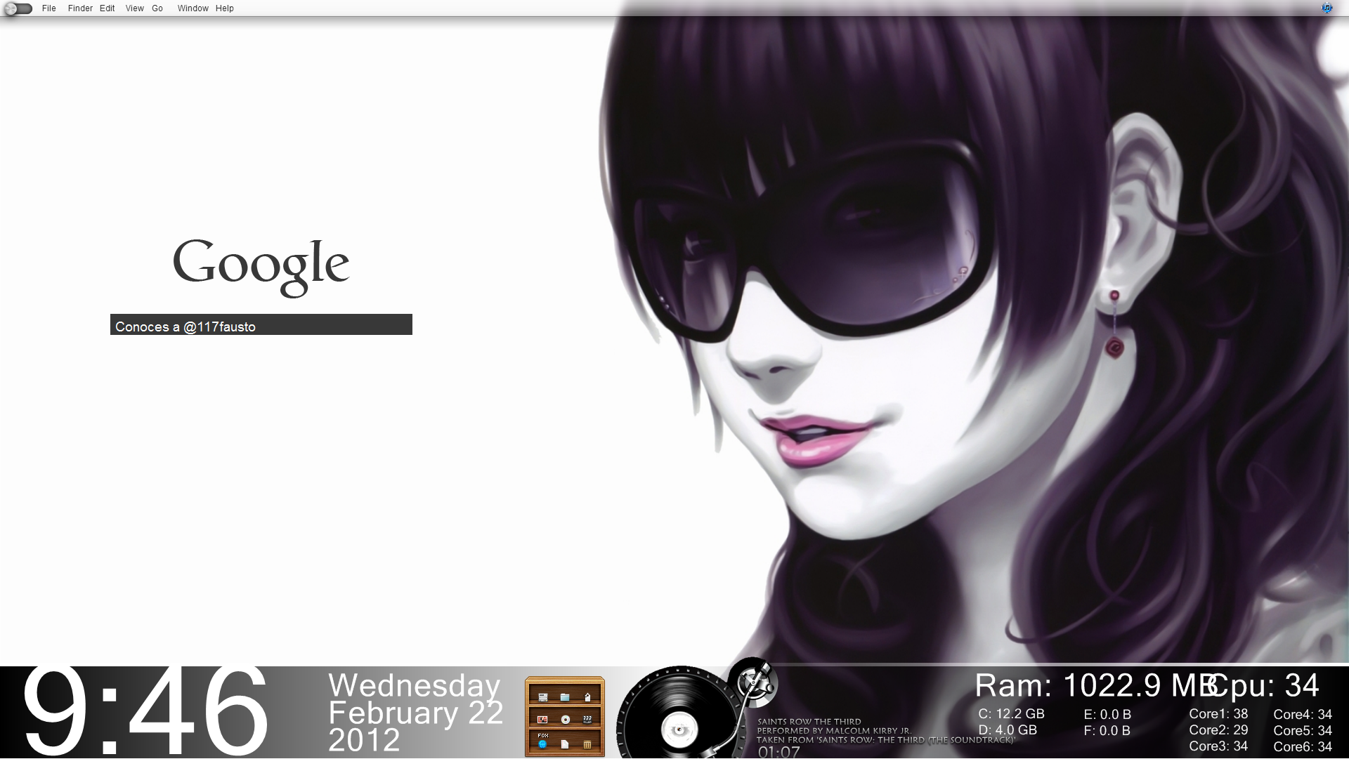 Tema para Windows 7 Saint -2 by 117fausto