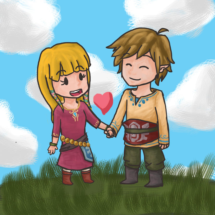 Skyward Sword Sketch by Chelmi5