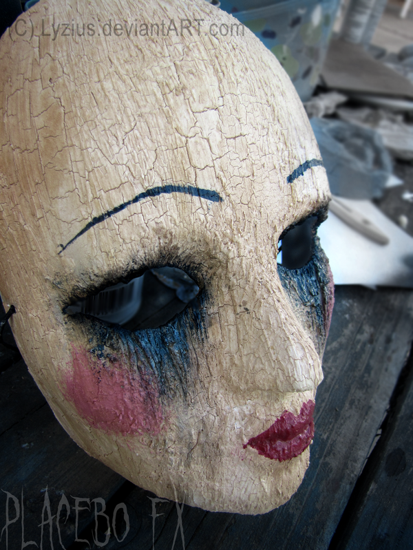 Cracked Doll Mask by PlaceboFX