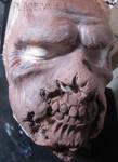 Zombie Prosthetic Sculpt