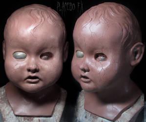 Doll Mask Sculpture