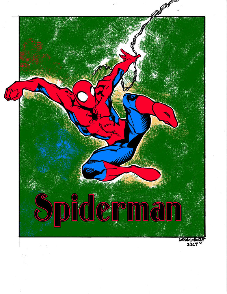 Spidey by wlfmn68