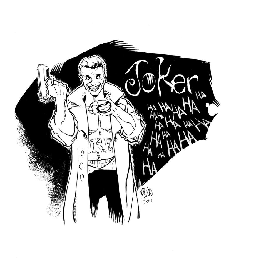 Suicide Squad Joker by wlfmn68