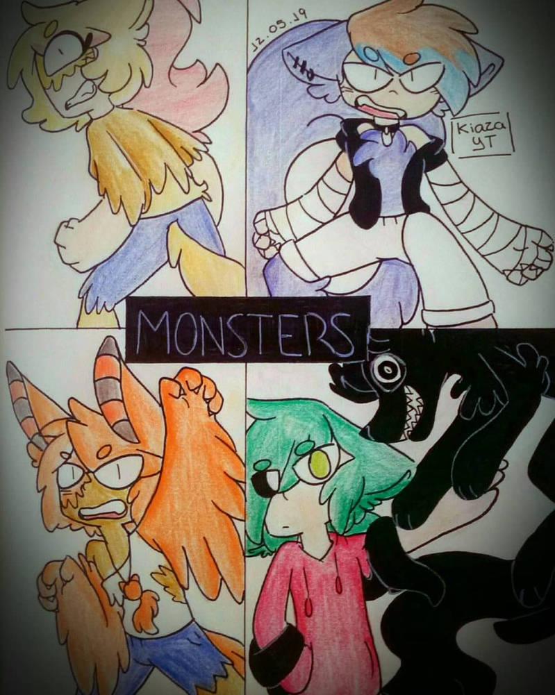 Monsters by Kiaza118