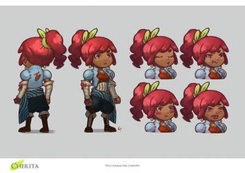 Viv Character Concept
