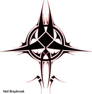 tribal circle design