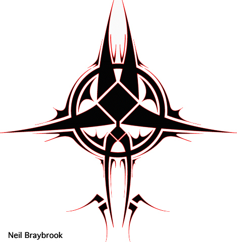 e589cc50e tribal circle design by evilneil on DeviantArt