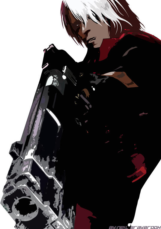 Devil May Cry Vector by evilneil