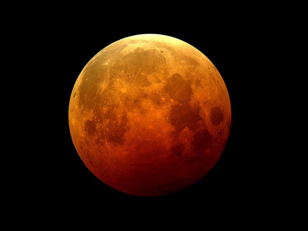 10 27 04 Total Lunar Eclipse by evilneil