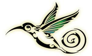 humming bird by evilneil