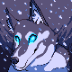 Winter's dog by Lightcall-Skeleton