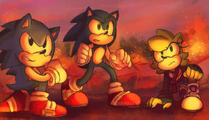 Sonic Forces by KitsuTama