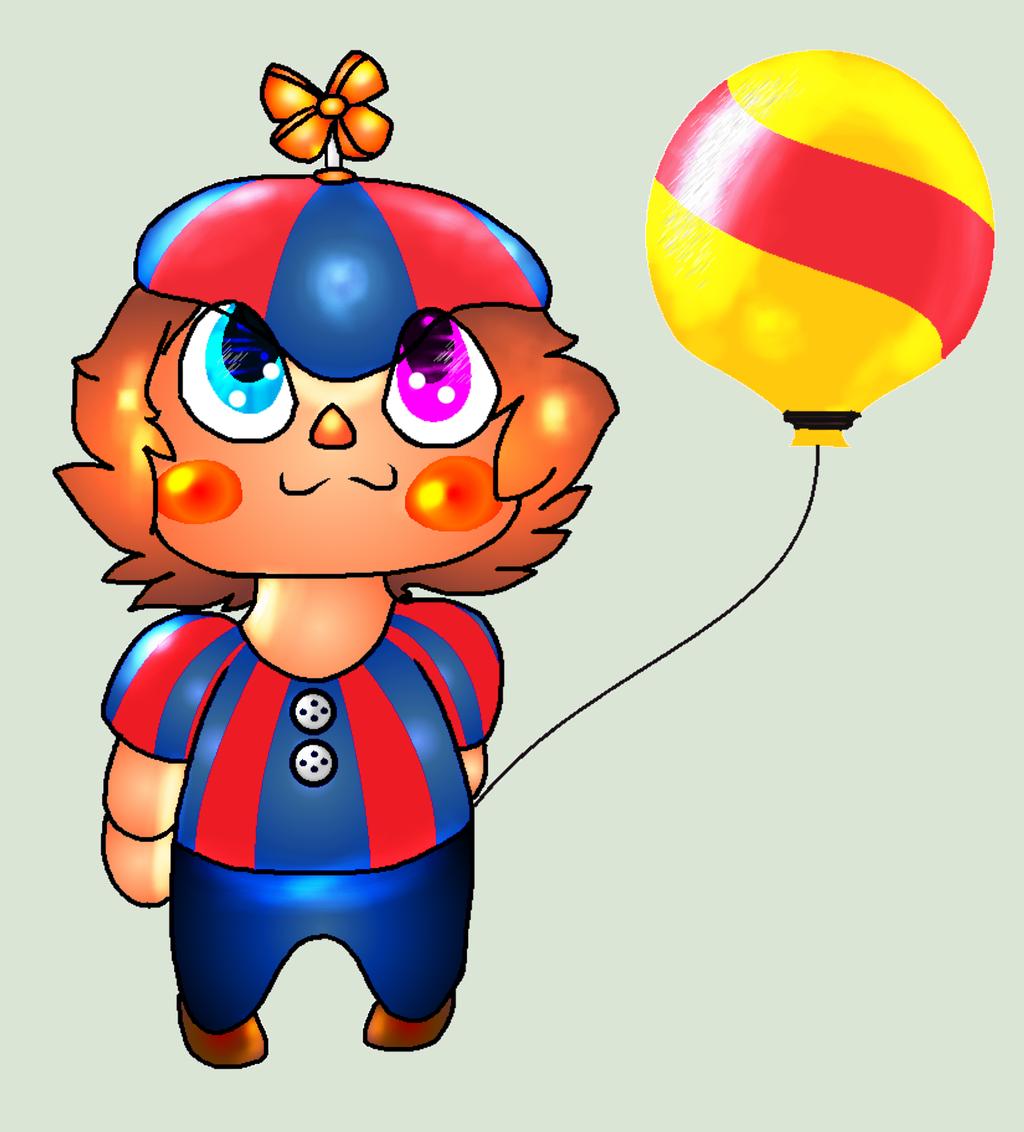 Chibi Balloon Boy By ModernLisart On DeviantArt